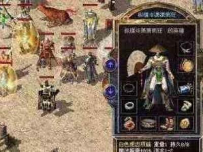 迷失传奇网站里战士新手初步接触游戏操作方式