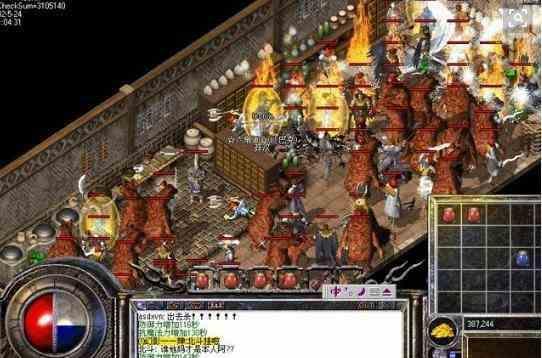 暗黑传奇版本里镇妖塔邪神王boss的玩法分享 暗黑传奇版本 第1张