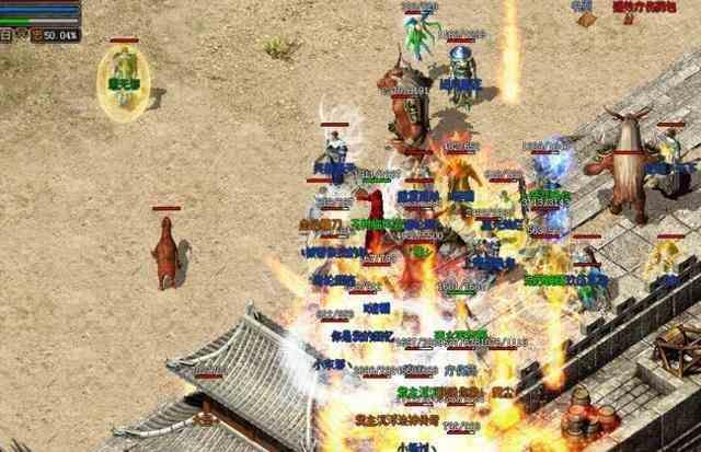 传奇世界sf中战士达人谈对战操作技巧 传奇世界sf 第1张