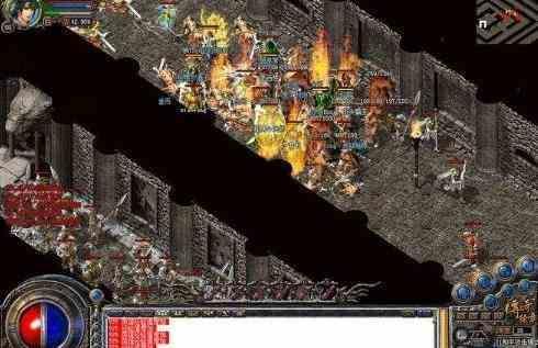 复古传奇中战士通过与道士战斗提高操作技术 复古传奇 第1张