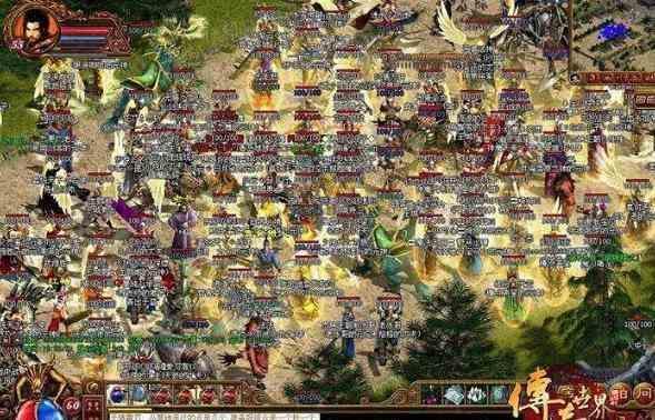 变态传奇手游里战场地图介绍 变态传奇手游 第1张